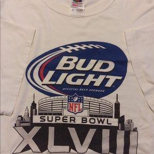 2014 Bud Light Super Bowl T-shirt